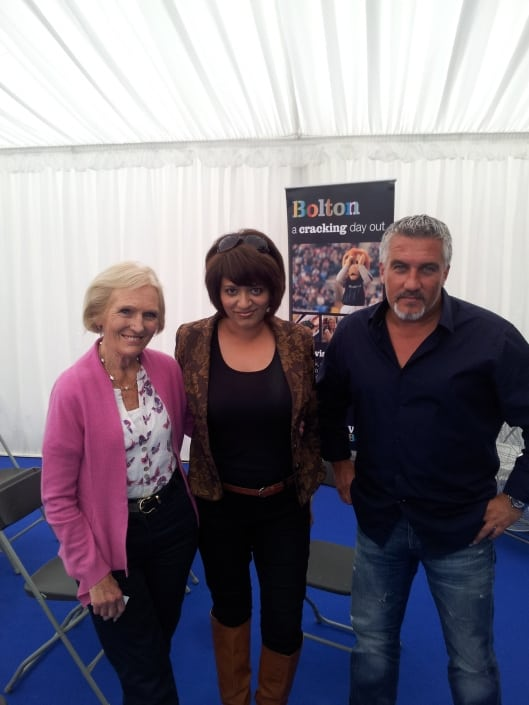 Chefs in the Hot Seat (Mary Berry and Paul Hollywood, you did good)!