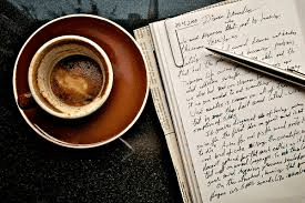The Joys of Writing, Coffee and really getting stuck in…