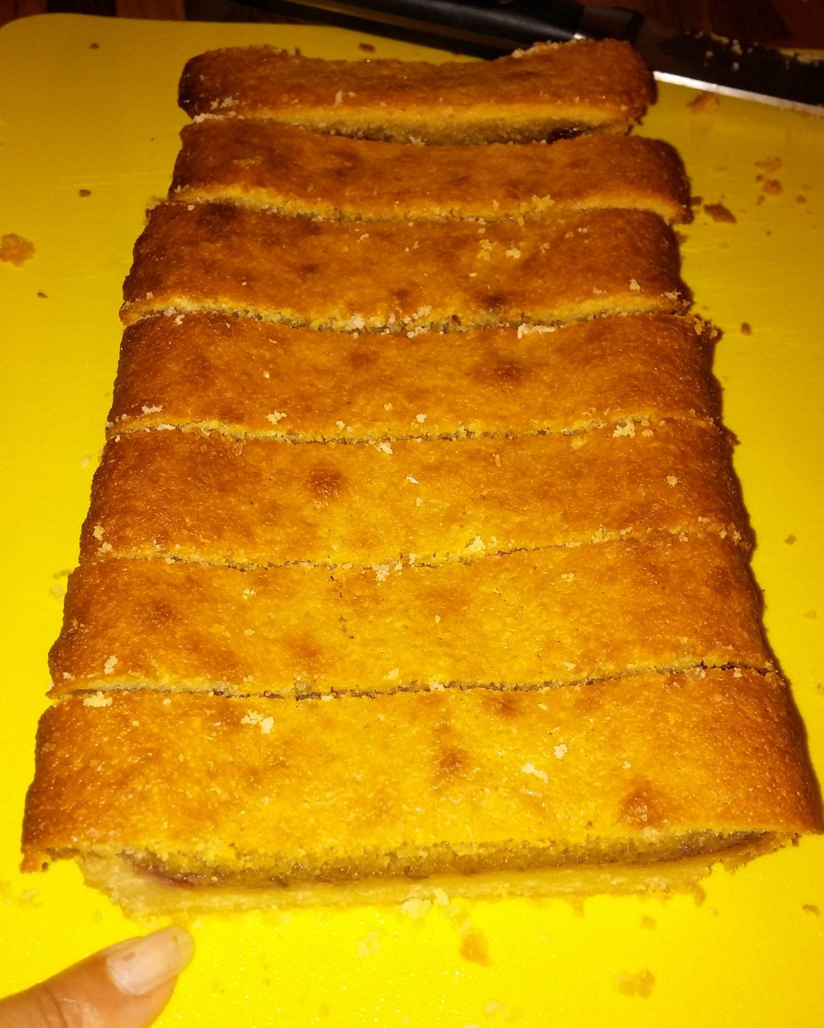 Lisa Faulkner's Bakewell Tart