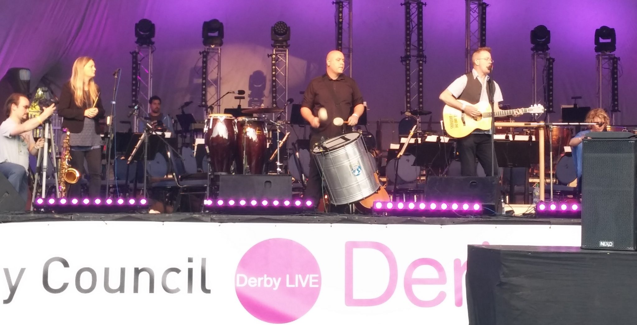 Derby Live packs a punch in weekend of fun & frolics!