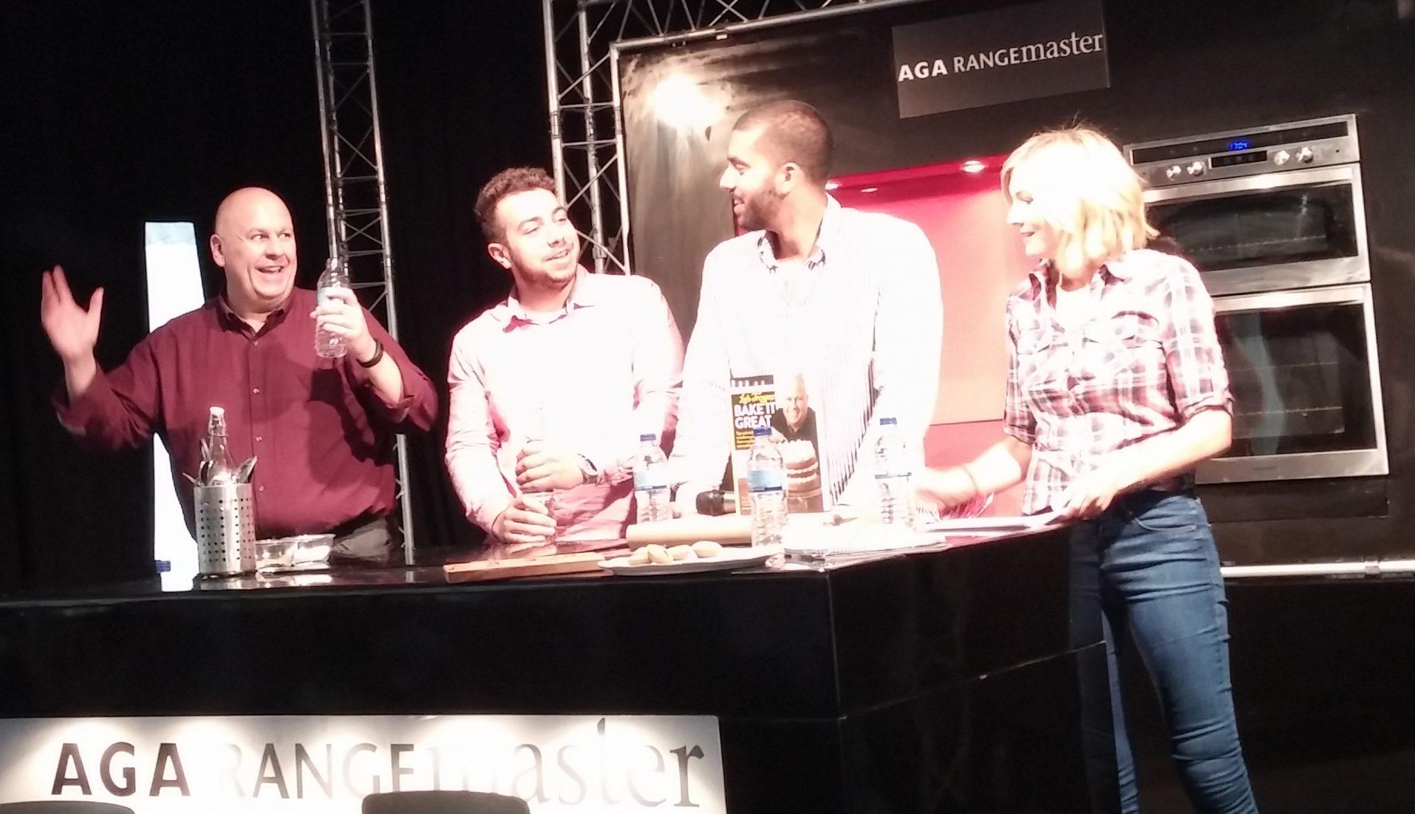 Luis, Phom, Lisa demo