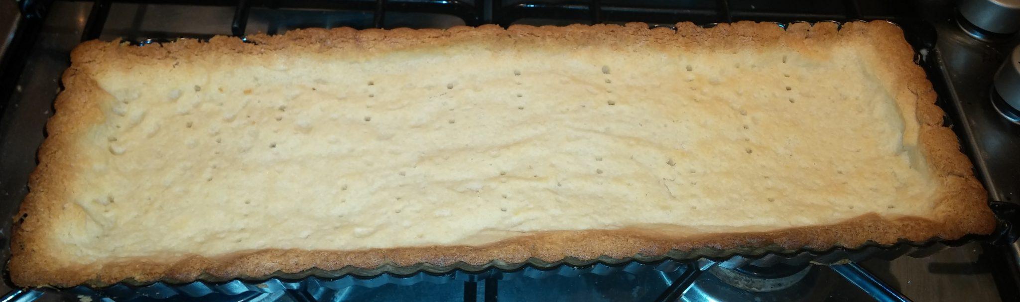 blind baked shortcrust pastry