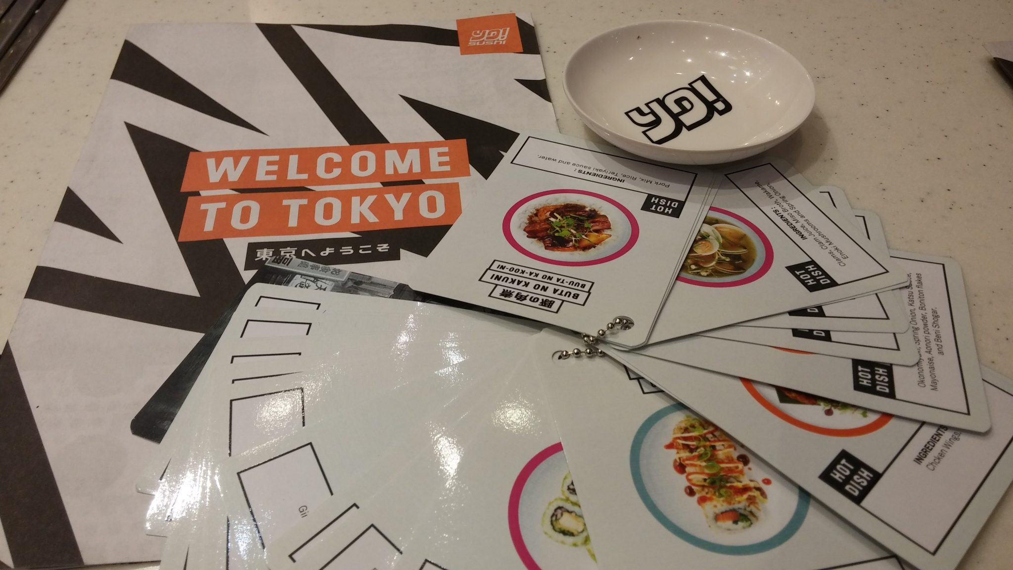New menu launch: #ThisIsTokyo Yo! Sushi, Intu Derby