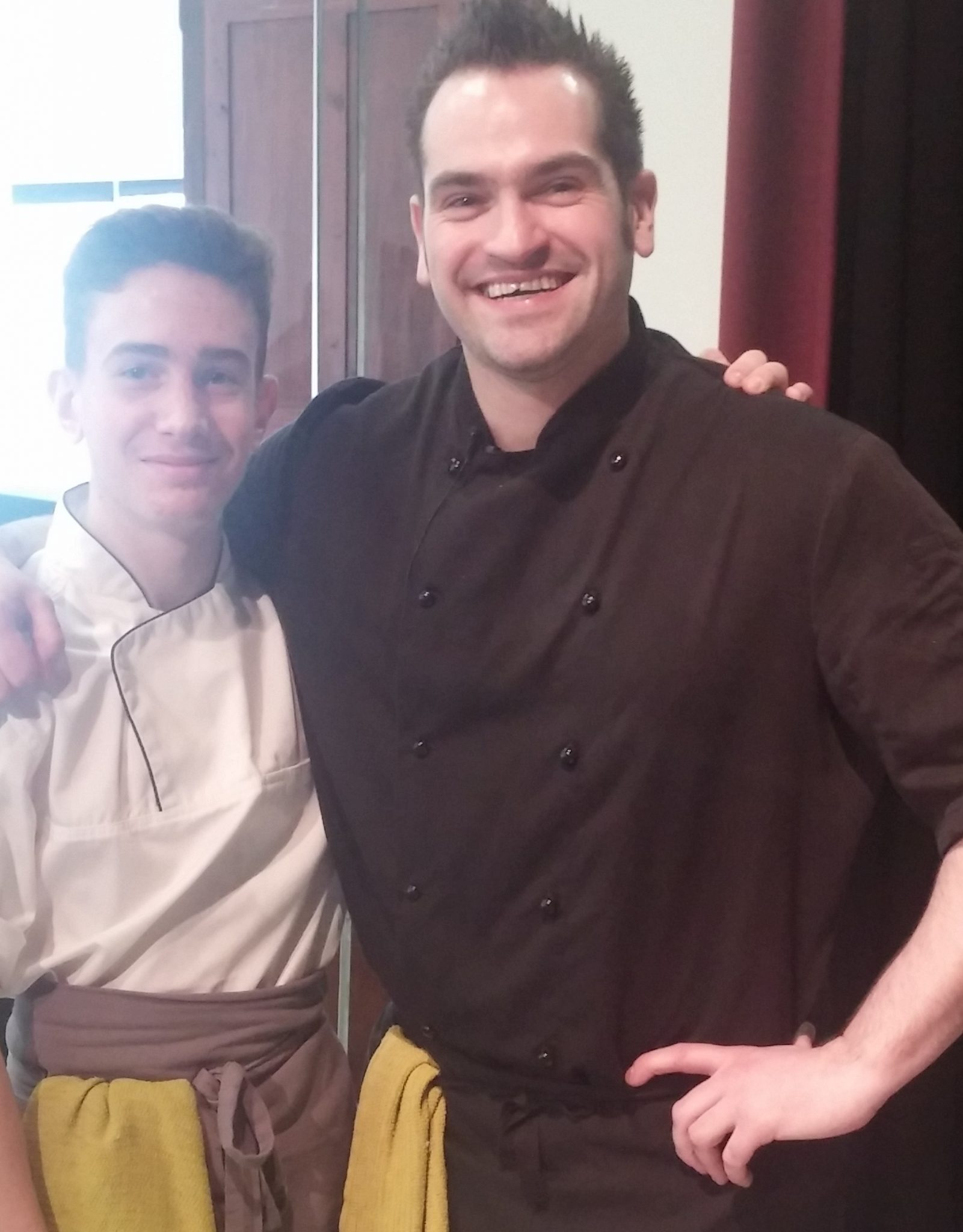 Head Chef Chris Parry and Tom