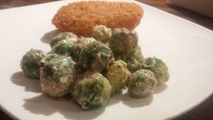 Mustard Mayonnaise Brussel Sprouts