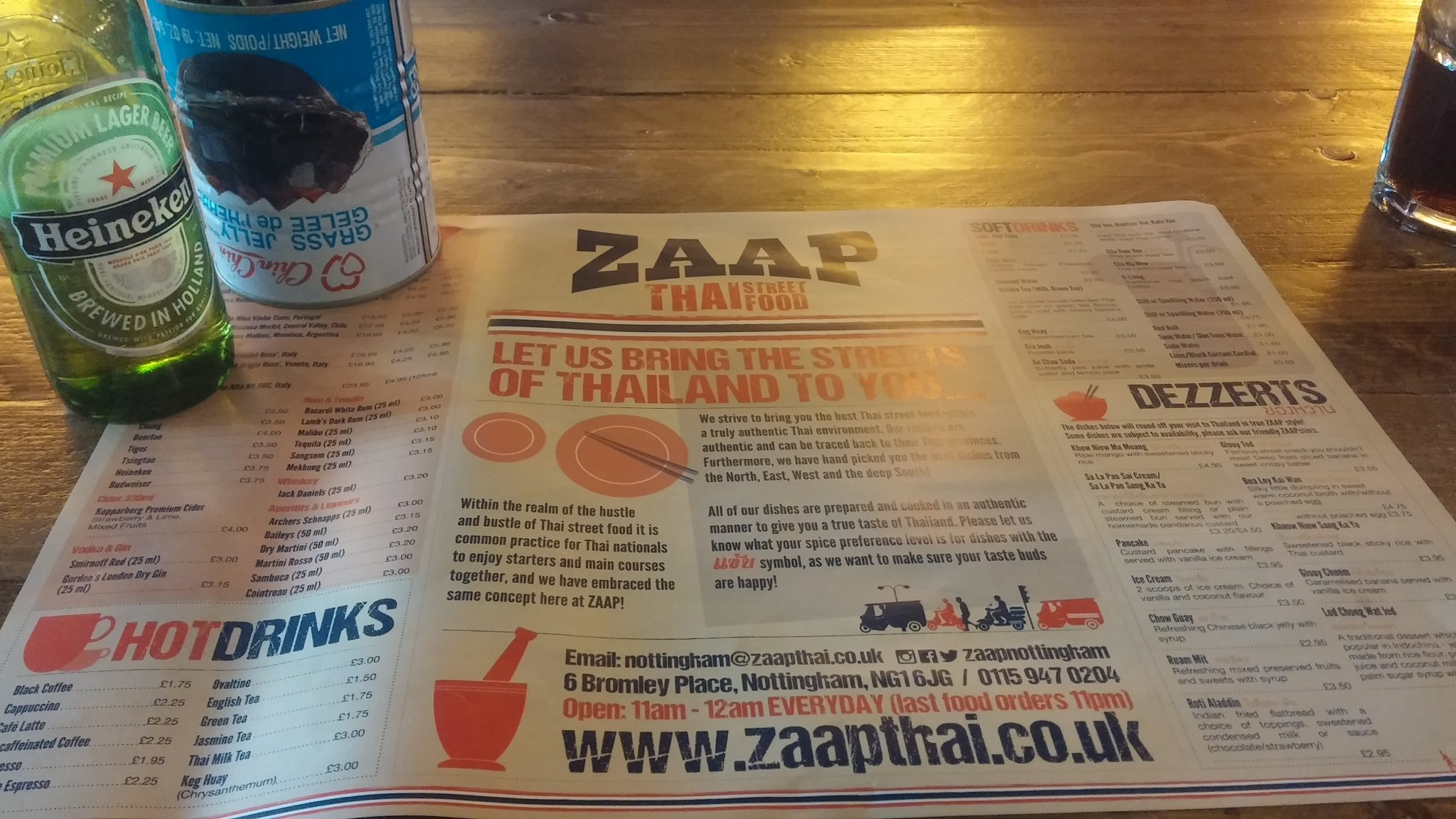 Restaurant Review: Zaap Thai, Bromley Place, Nottingham