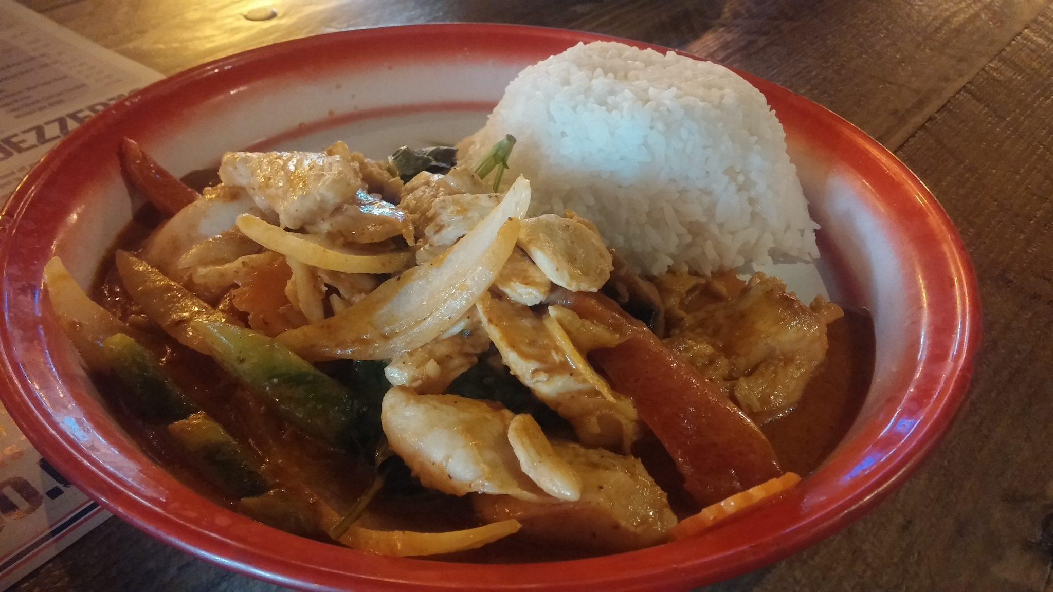 Stir-fry Chicken, Jasmine Rice