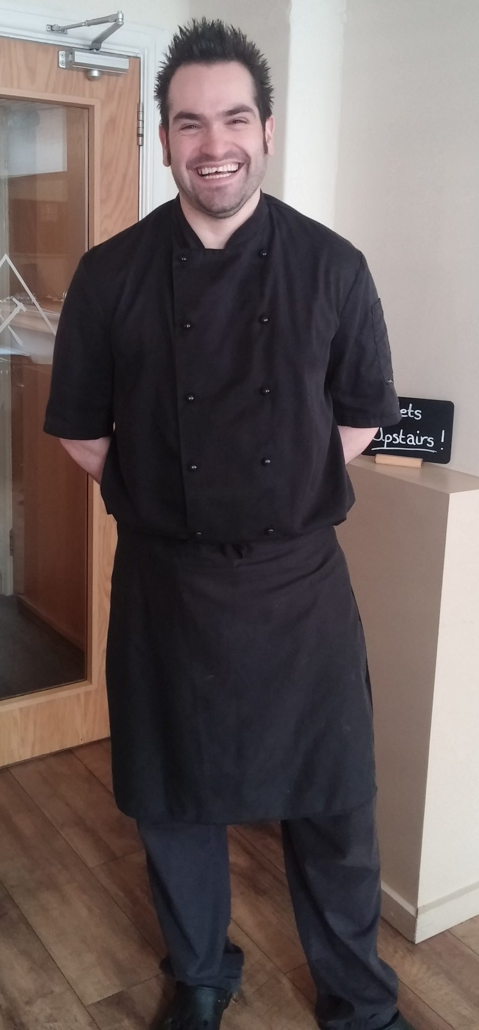 Head Chef Chris Parry