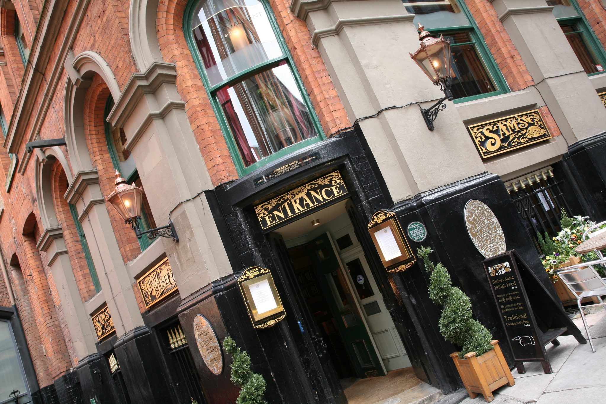 Restaurant Review: Sam's Chop House, Manchester