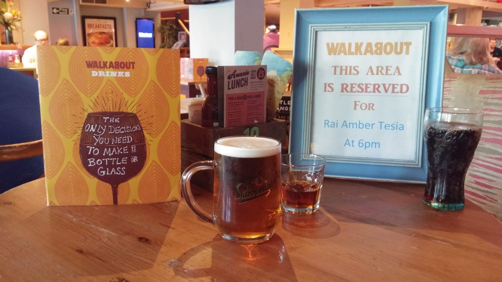 Restaurant Review: Walkabout, Derby