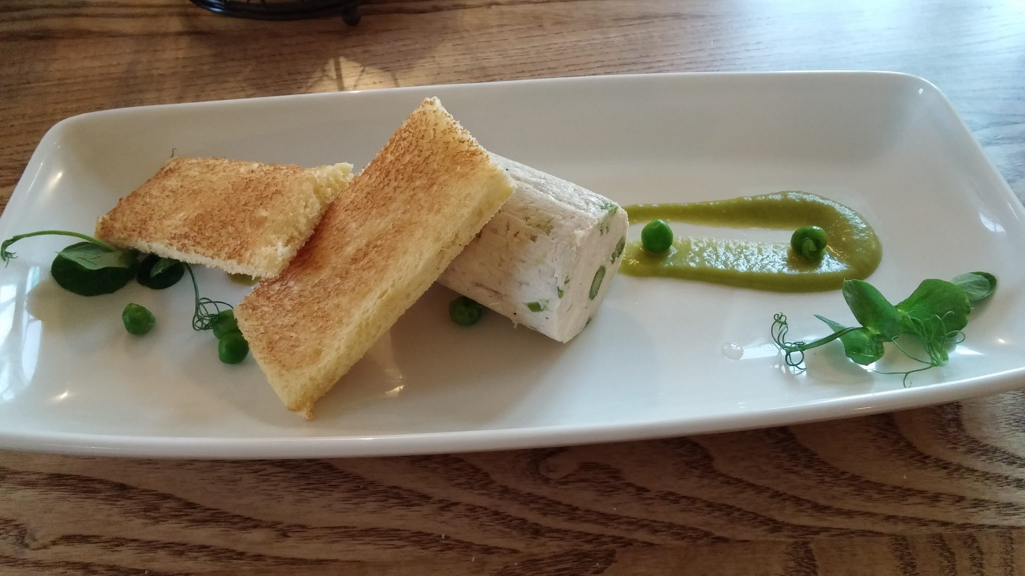 Chicken and Asparagus Terrine
