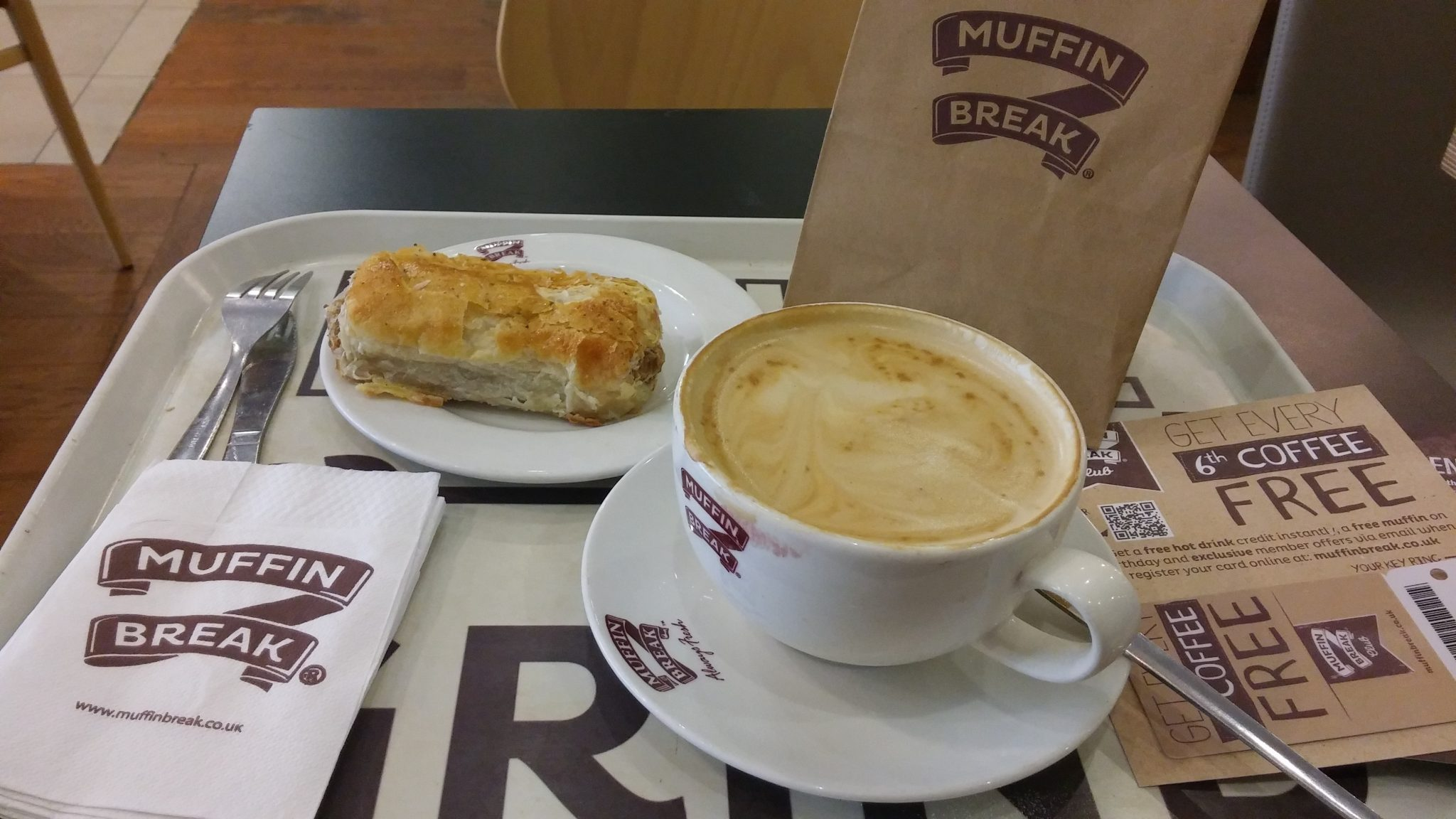 Coffee + Cruffin @Muffin Break, Derby (Intu) = heaven