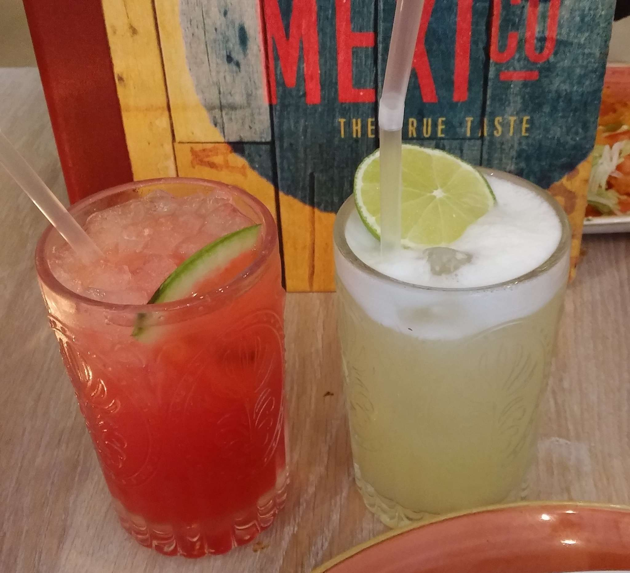 Drinks Paired With Mexican Food