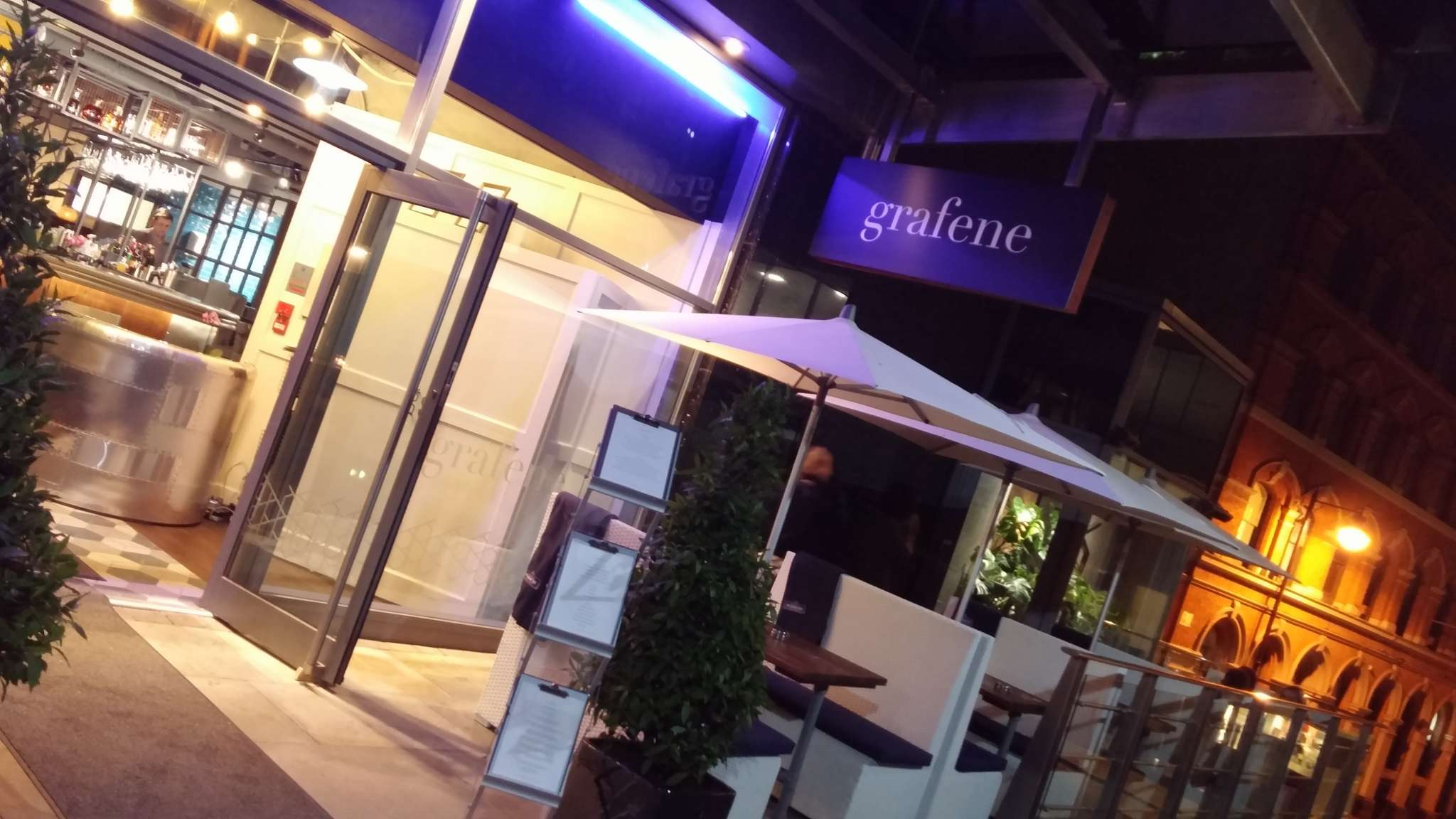 Restaurant review: Grafene, Manchester