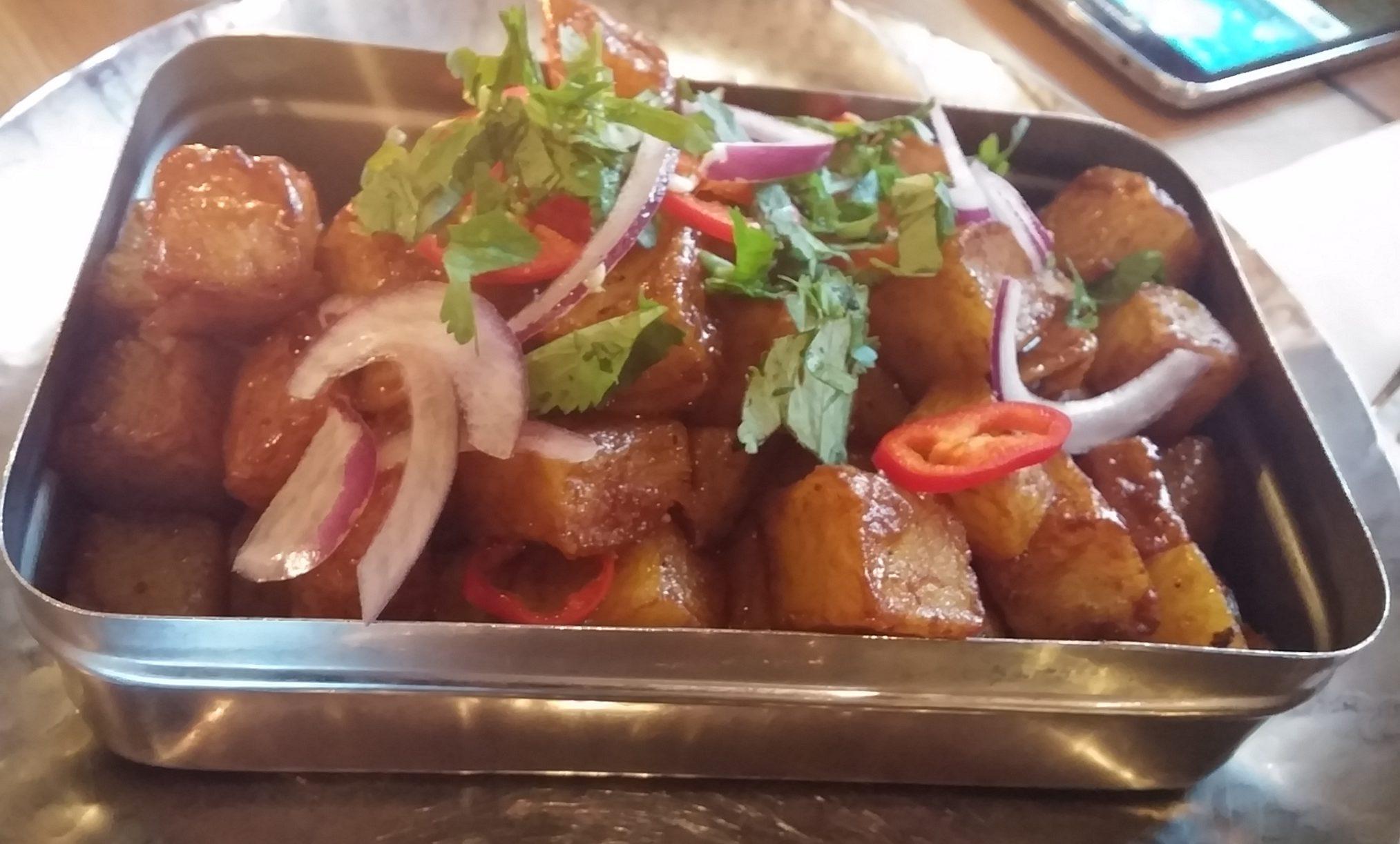 Treacle tamarind fries
