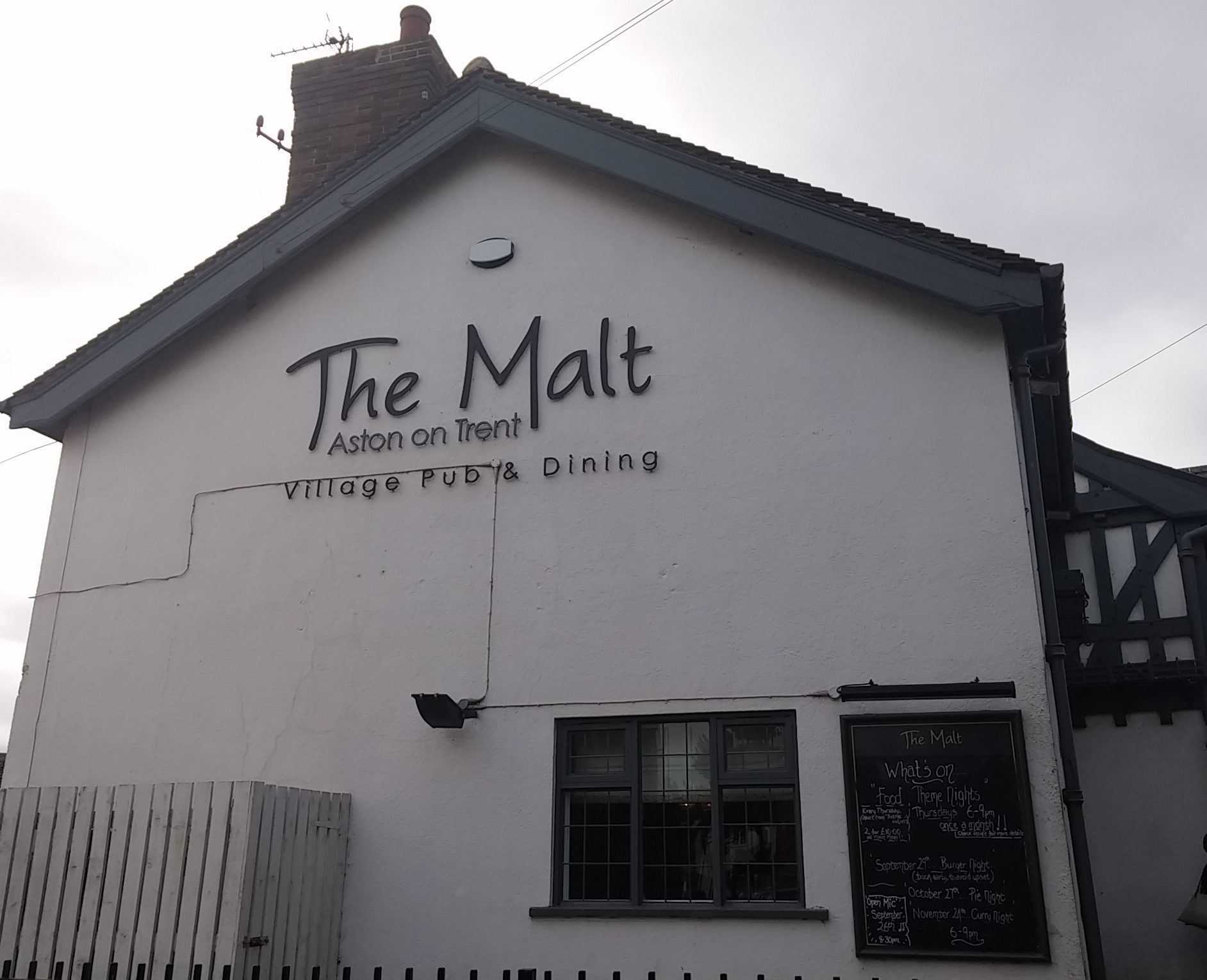Gastropub review: The Malt, Aston-on-Trent, Derbyshire