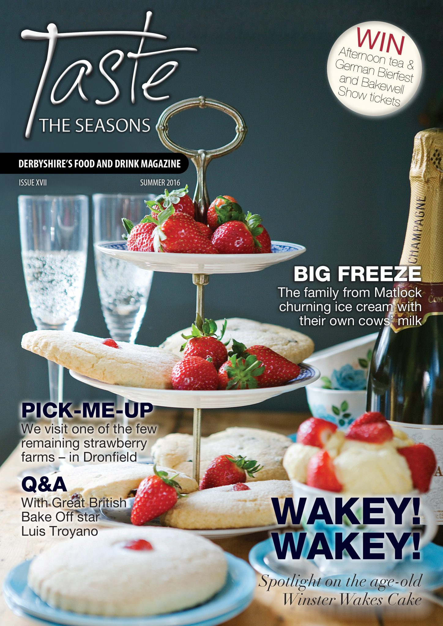 Q&A: Andy Darlington, Editor at Taste the Seasons, Derbyshire Food and Drink Magazine