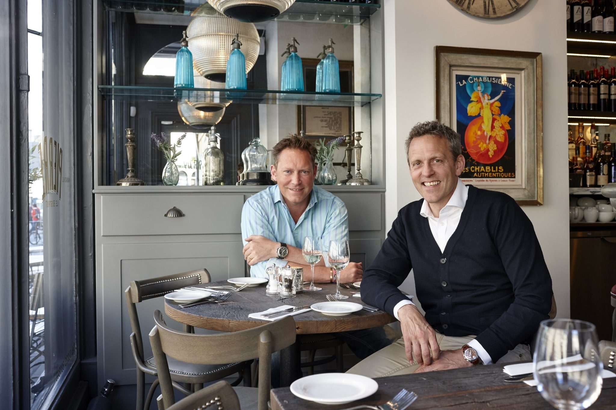 Q&A: Founders of Le Bistrot Pierre, Rob Beacham and John Whitehead