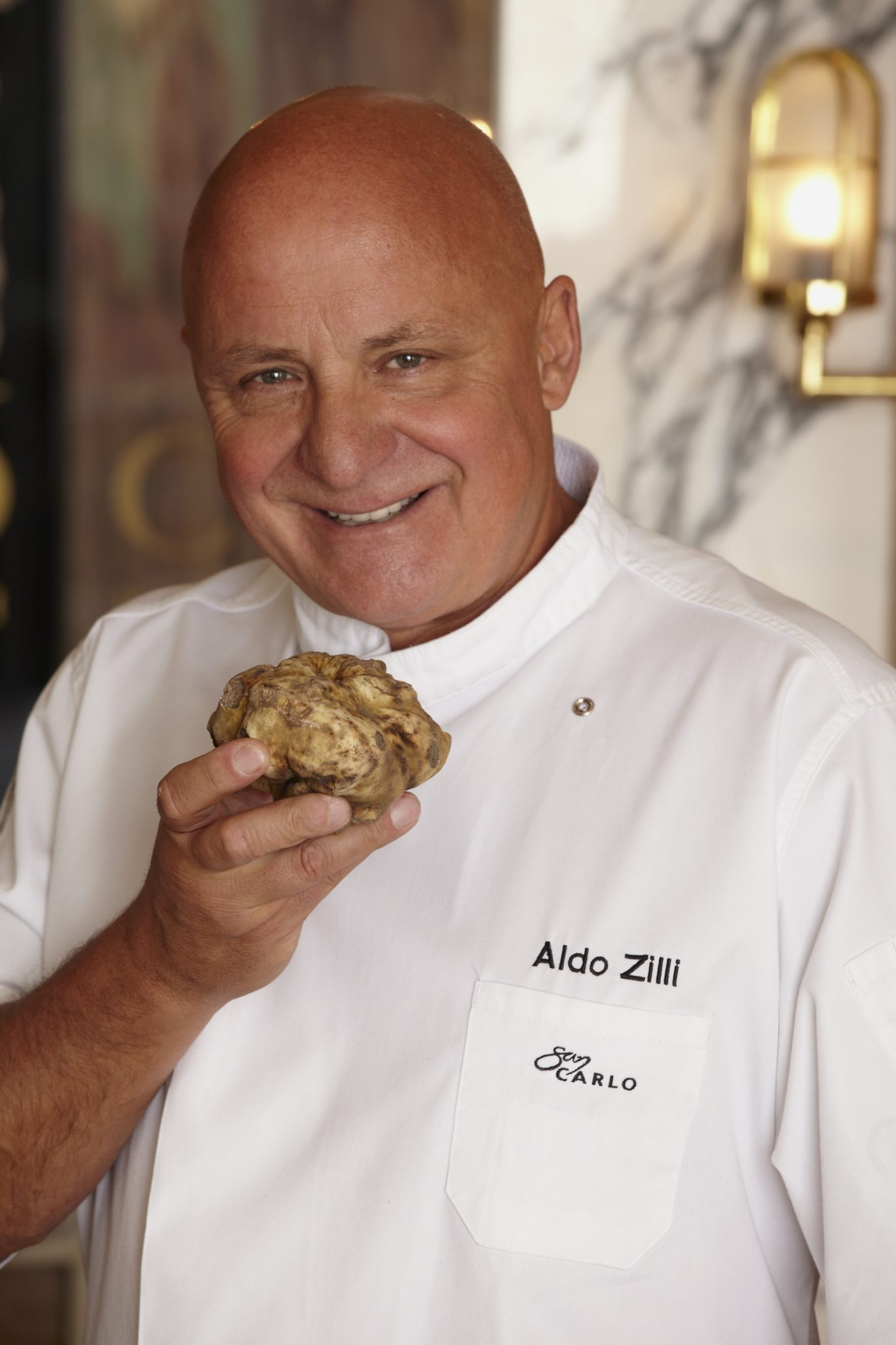 Aldo Zilli jets into San Carlo Birmingham with world's most expensive food