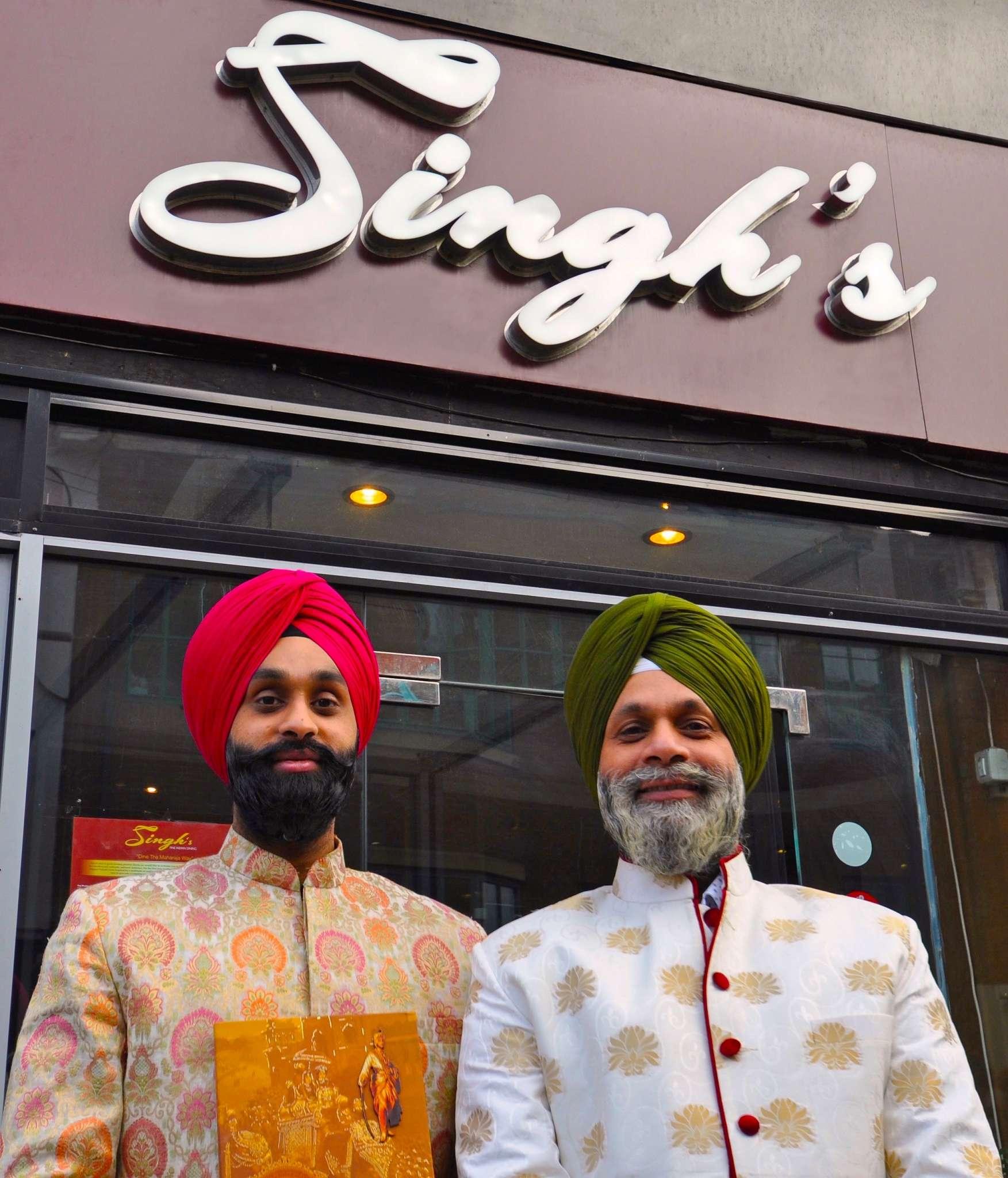Press night: Singh's Fine Dining Restaurant, Nottingham