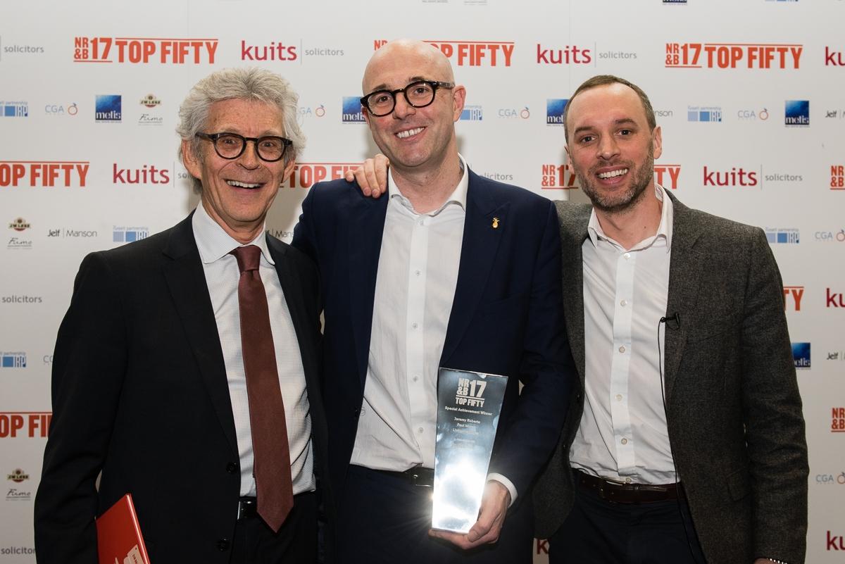 Thom Hetherington (CEO Holden Media), Paul Moran (Living Ventures), Tony Lyons (Kuits Solicitors)