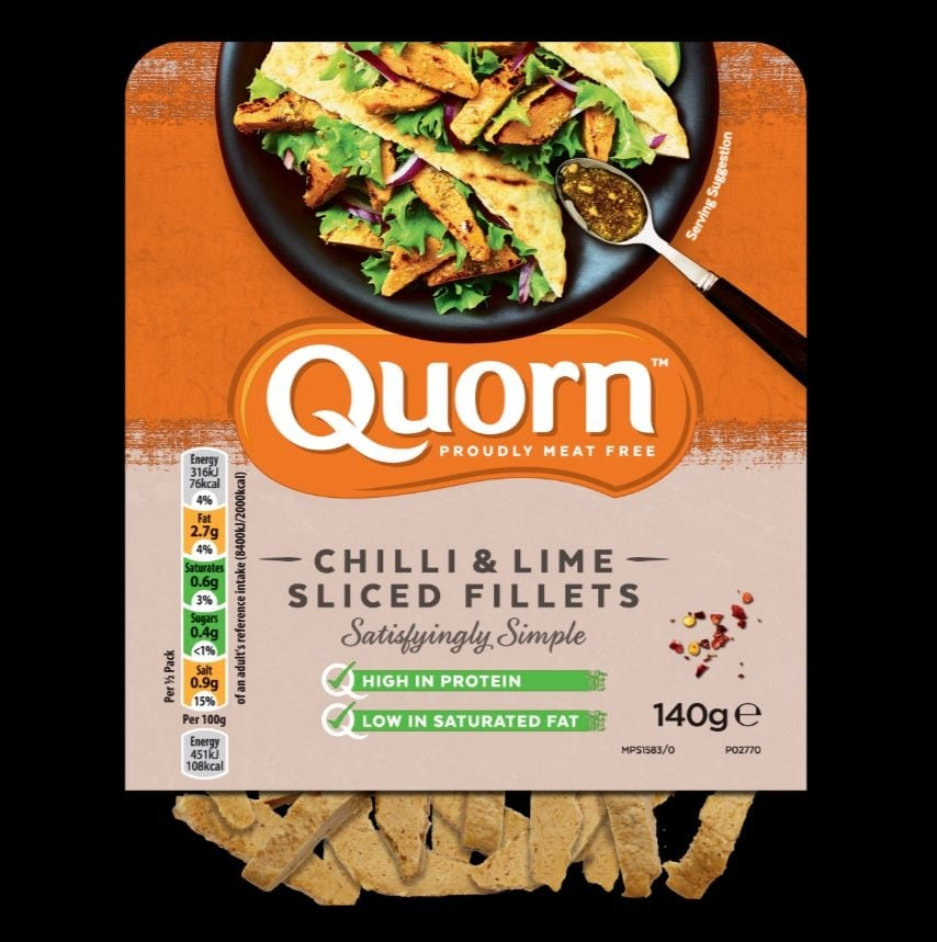 RECIPE: NEW YORK CLUB SANDWICH (QUORN™ CHILLI & LIME SLICED FILLETS)