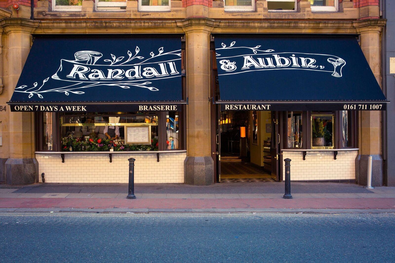 LAUNCH: RANDALL & AUBIN ANGLO FRENCH BRASSERIE, BRIDGE STREET, MANCHESTER