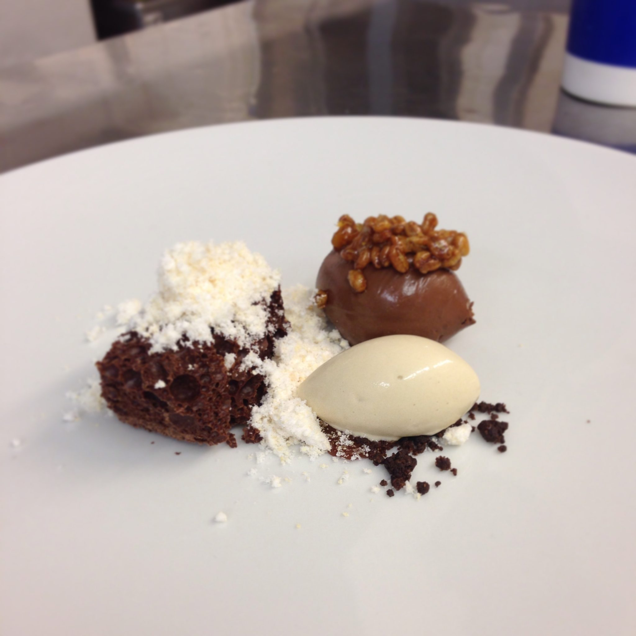 Chocolate, artichoke, hazelnut