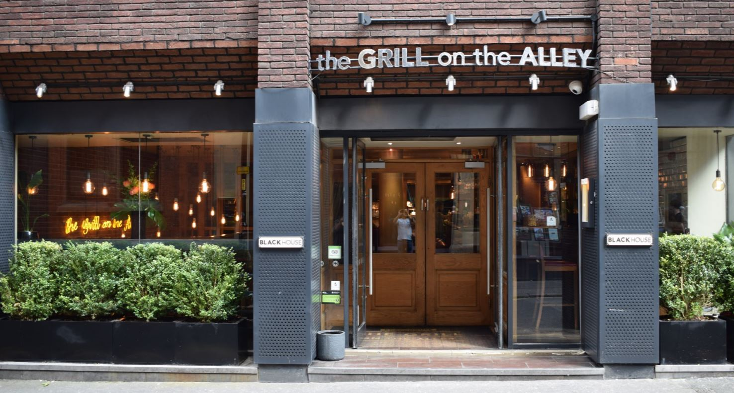 RESTAURANT REVIEW: THE GRILL ON THE ALLEY, MANCHESTER