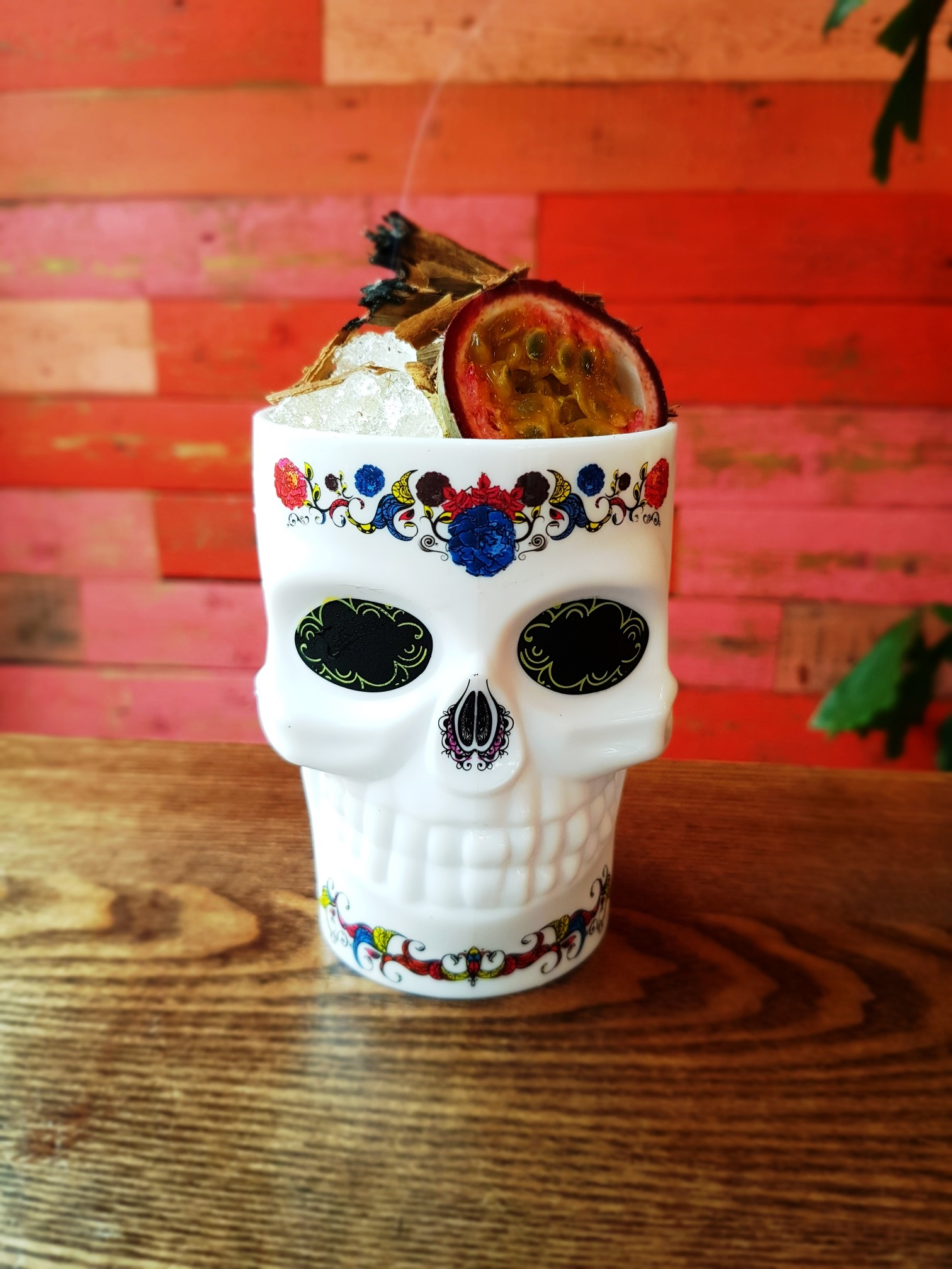 SPOOKY TREATS AT LAS IGUANAS FOR HALLOWEEN  DAY OF THE DEAD