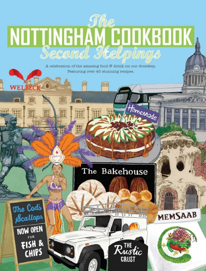 BOOK LAUNCH: TUCK INTO SECOND HELPINGS OF THE NOTTINGHAM COOKBOOK