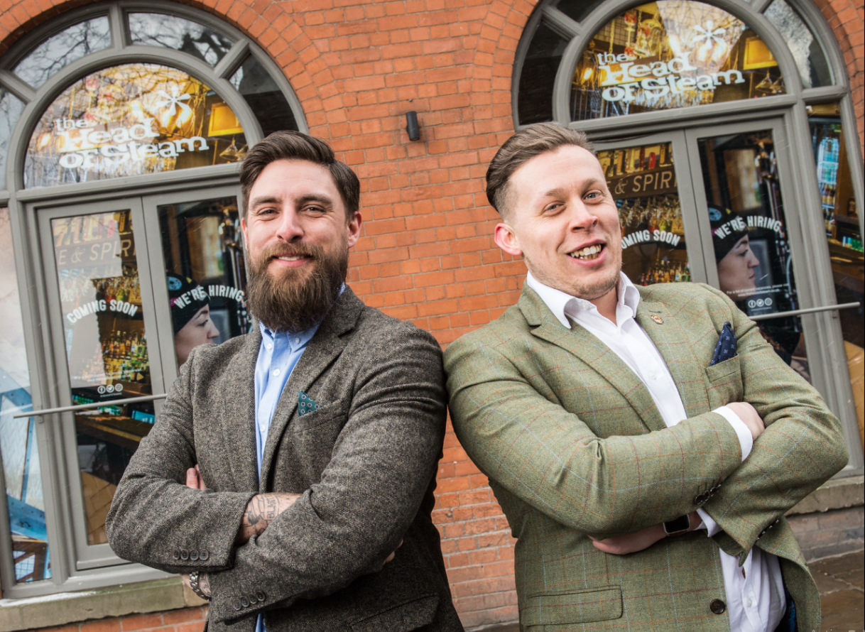 'BREW' KID IN TOWN AS HEAD OF STEAM LAUNCHES IN NOTTINGHAM