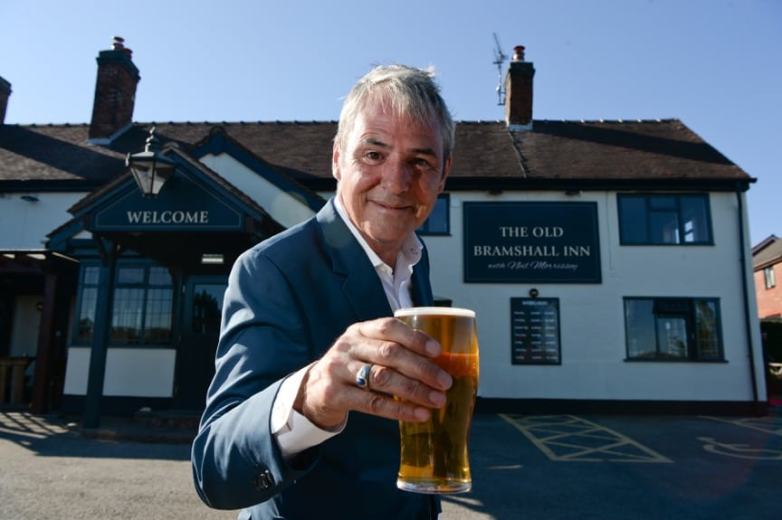REAL ALE CONNOISSEUR NEIL MORRISSEY TAKES THE HELM AT THE OLD BRAMSHALL INN