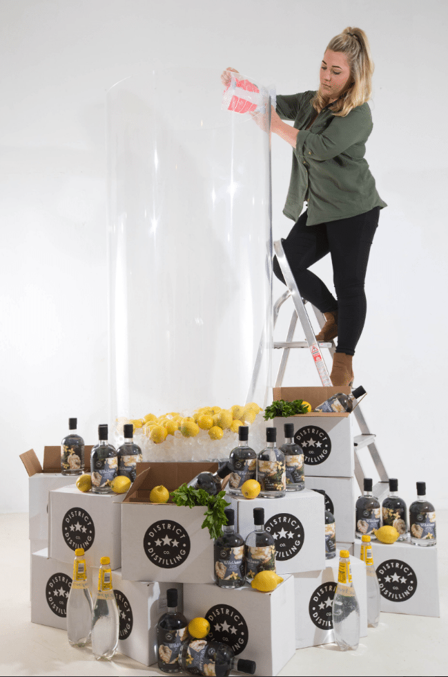 WORLD'S LARGEST GIN & TONIC IS THE AIM FOR GUINESS WORLD RECORDS™
