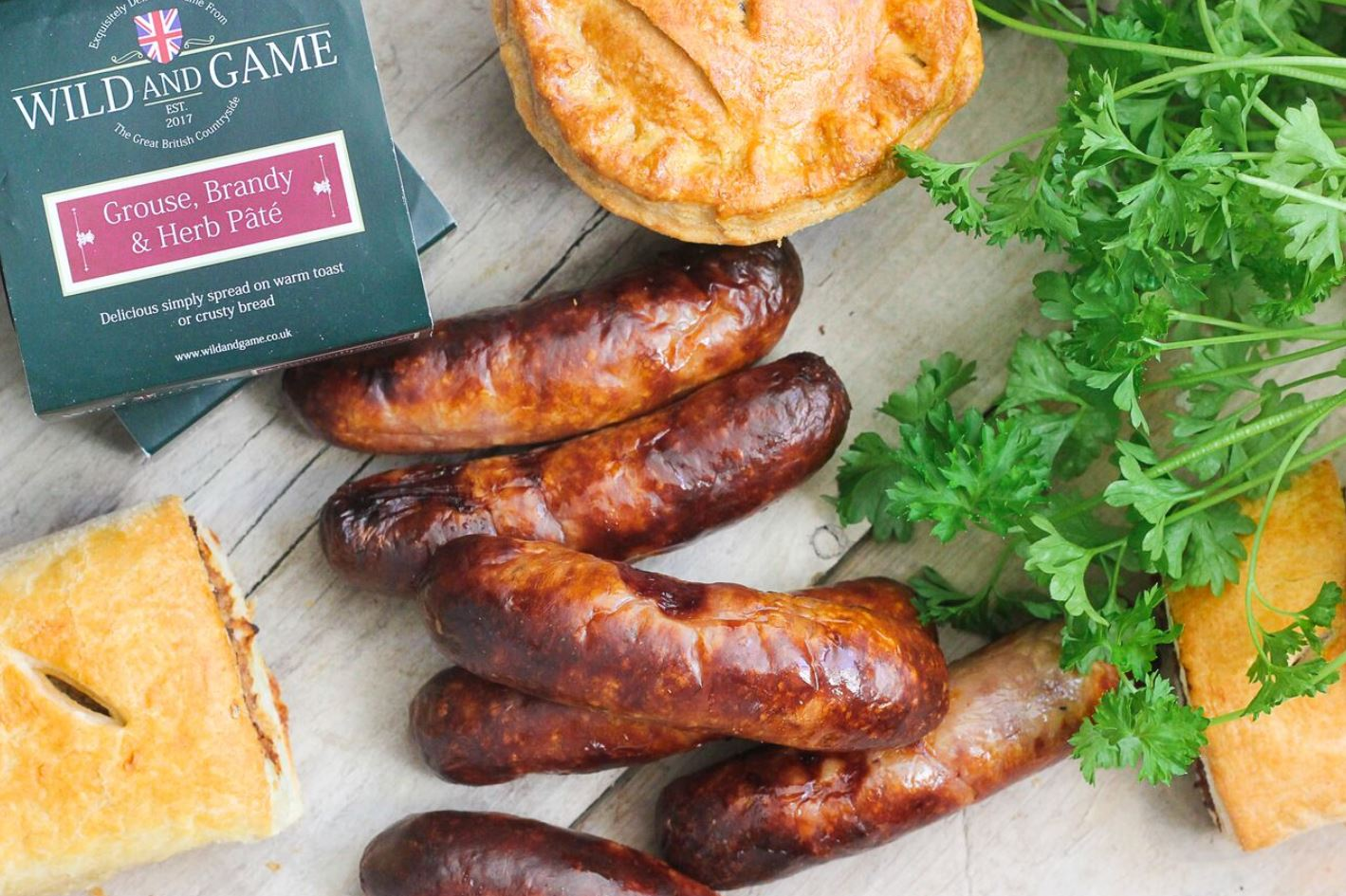 NEW FOOD PRODUCER CHAMPIONS GREAT BRITISH GAME