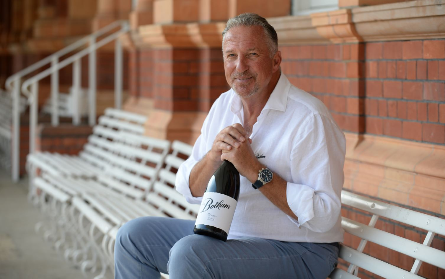 SIR IAN BOTHAM OBE EMBARKS ON EXCITING NEW VENTURE WITH PREMIUM WINE