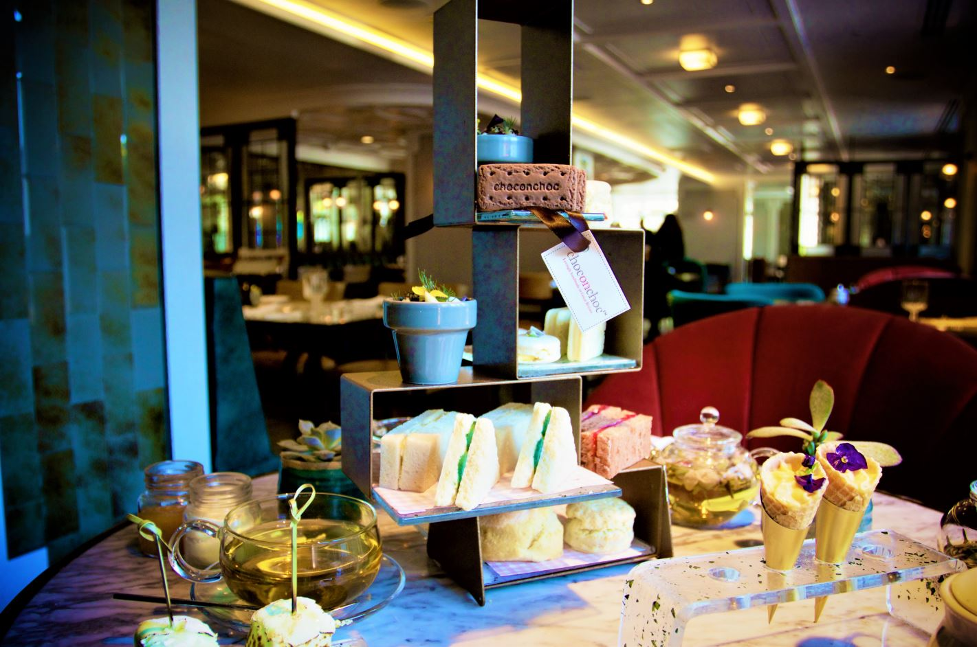 CHOC ON CHOC CELEBRATES NATIONAL AFTERNOON TEA WEEK WITH THE MARRIOTT PARK LANE HOTEL