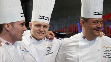 TEAM UK SECURE PLACE IN BOCUSE D'OR WORLD FINAL