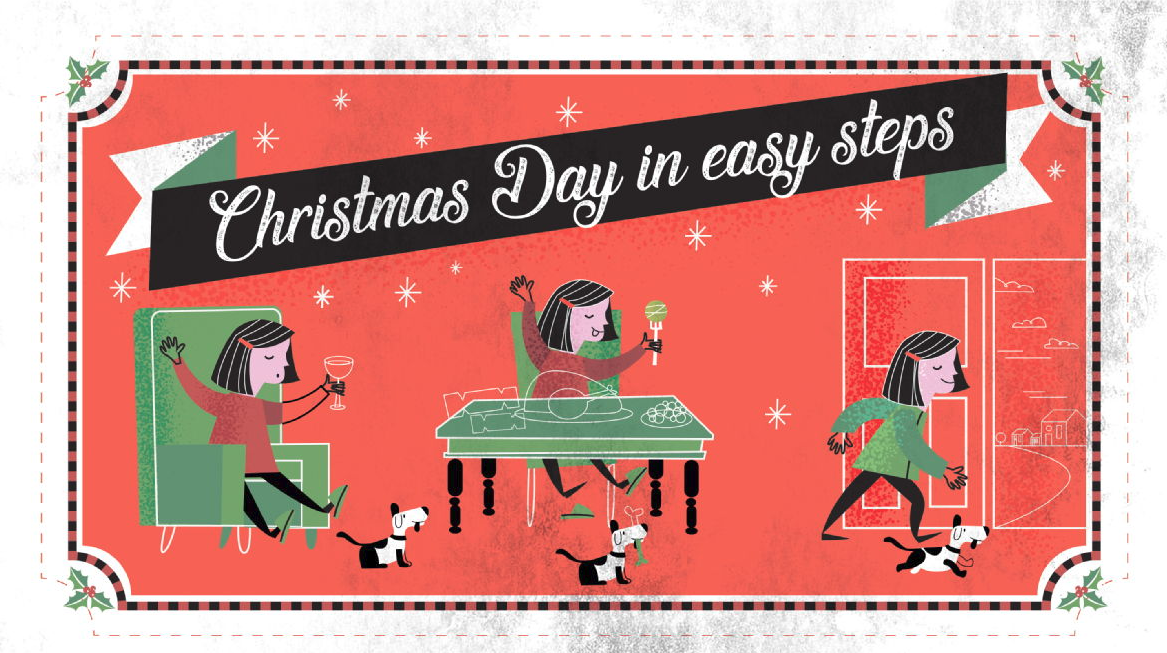 STARVING, SPROUTS AND STROLLS: STEP INTO CHRISTMAS HEALTHILY