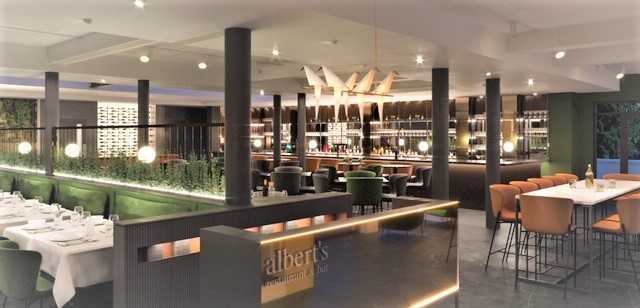 ALBERT'S DIDSBURY REVEALS OPENING DATE AND FIRST GLIMPSE OF BRAND NEW LOOK RESTAURANT AND BAR