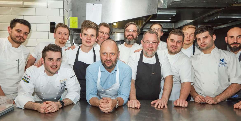 ROGANIC FUNDRAISING DINNER RAISES £12.3K FOR BOCUSE D'OR UK ACADEMY