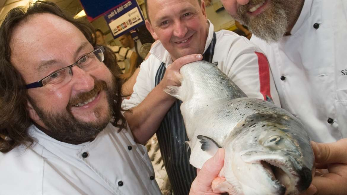 TICKETS FOR CELEBRITY CHEF DEMOS ON SALE TOMORROW (FRIDAY 31 MAY)