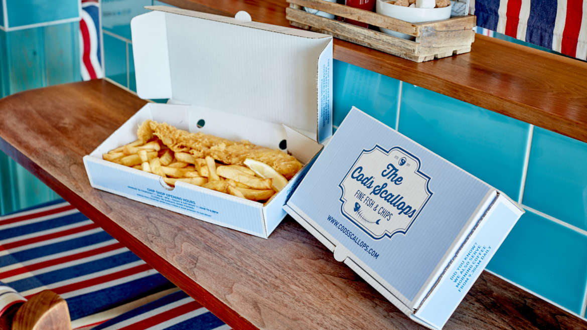 FIN-TASTIC! THE COD'S SCALLOPS CROWNED UK'S BEST FISH & CHIP SHOP