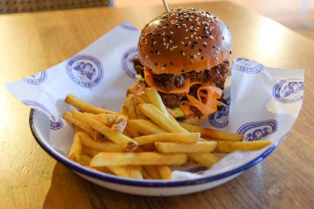 Nashville Fried Chicken Burger