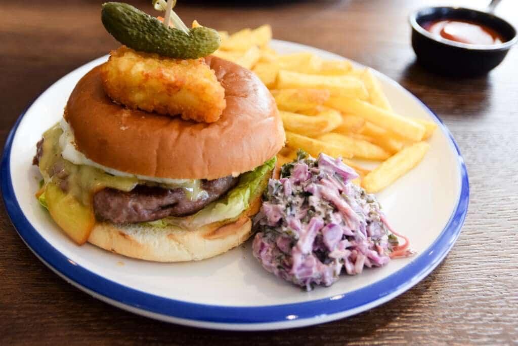 The Strutt Burger
