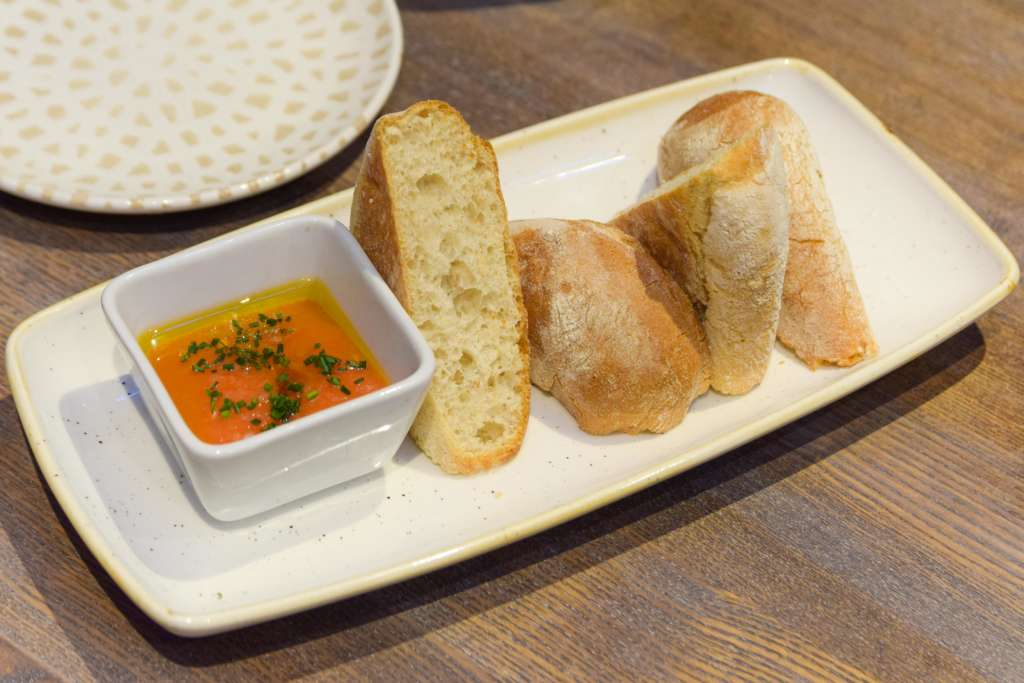 Pan Con Tomate at ViDa by Lorentes Nottingham