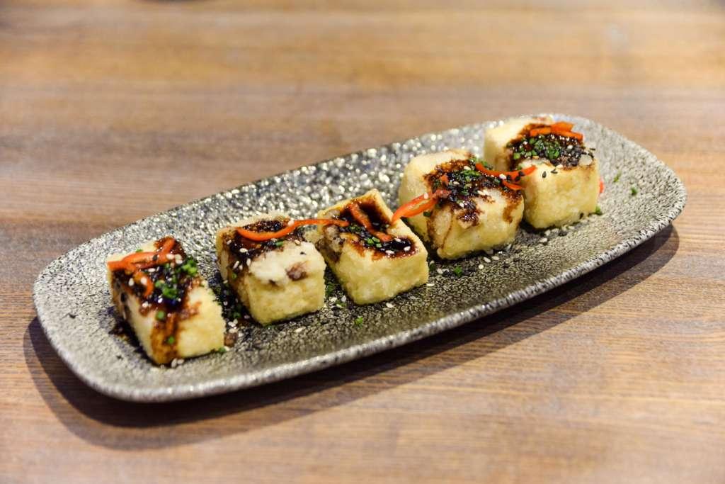 Crispy tofu at ViDa by Lorentes Nottingham