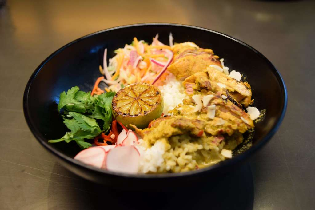 Shu's shiok chicken Wagamama Derbion Derby