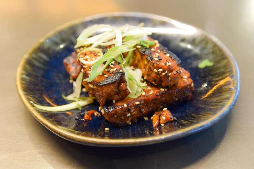 Sticky vegan ribs, Wagamama, Derbion, Derby