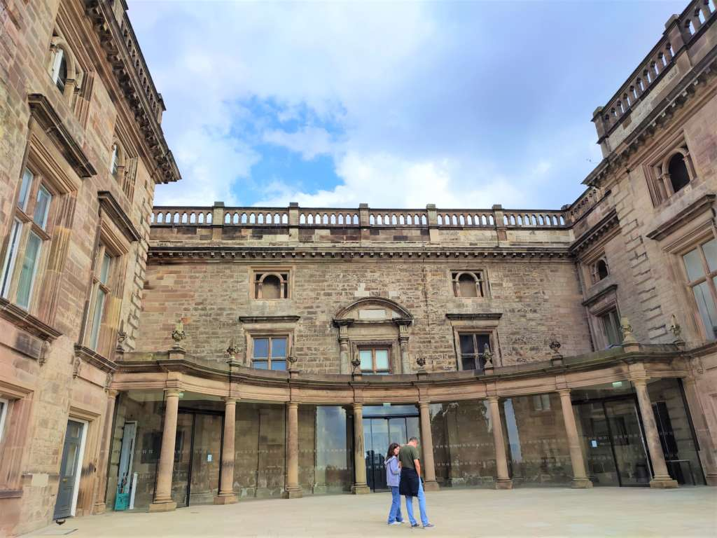 Ducal Palace, Nottingham Castle that houses Creative Galleries and The LAB